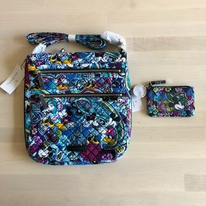 Vera Bradley Disney Iconic Hipster Bag & ID Case